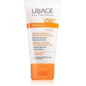 Uriage Bariésun crema de fata cu minerale pentru protectie SPF 50+