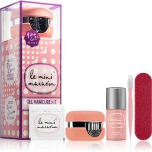 Le Mini Macaron Gel Manicure Kit Rose Creme set de cosmetice VI. (pentru unghii) pentru femei