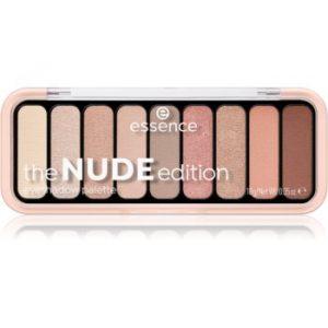 Essence The Nude Edition paletă cu farduri de ochi