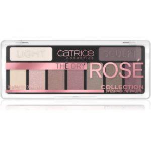 Catrice The Dry Rosé Collection paletă cu farduri de ochi