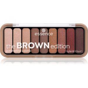 Essence The Brown Edition paletă cu farduri de ochi
