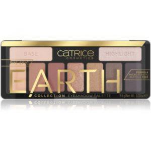 Catrice Epic Earth paletă cu farduri de ochi
