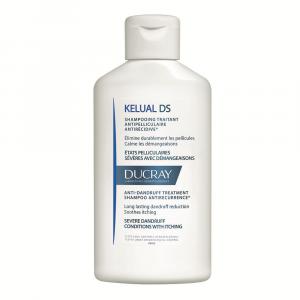 Sampon tratament pentru reducerea scuamelor cu efect anti-recidiva Kelual DS, 100 ml, Ducray