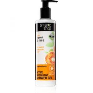 Organic Shop Organic Grapefruit & Lime gel de duș activ