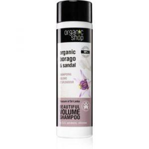 Organic Shop Organic Borago & Sandal sampon pentru volum
