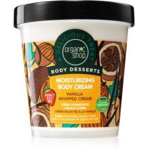 Organic Shop Body Desserts Vanilla crema de corp hidratanta