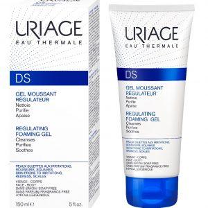 Gel de curatare pentru dermatita seboreica ten si scalp D.S, 150 ml, Uriage