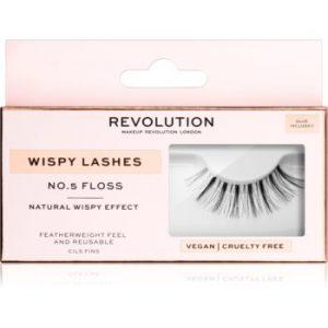 Makeup Revolution False Lashes Wispy Pentru fixarea genelor