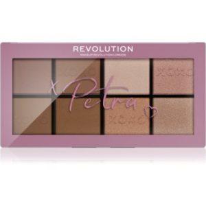 Makeup Revolution X Petra XOXO paletă de farduri pentru obraji