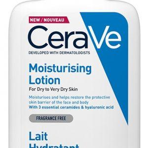 Lotiune hidratanta de fata si corp pentru piele uscata si foarte uscata, 236 ml, CeraVe