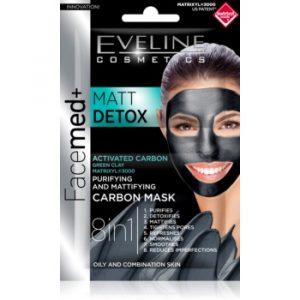 Eveline Cosmetics FaceMed+ mască pentru față pentru ten gras și mixt