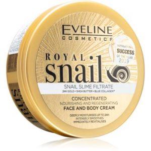 Eveline Cosmetics Royal Snail cremă intens hrănitoare pentru fata si corp