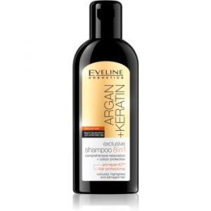 Eveline Cosmetics Argan + Keratin șampon 8 in 1
