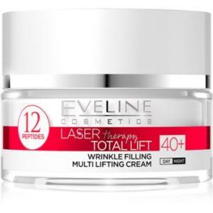 Eveline Cosmetics Laser Therapy Total Lift crema anti-rid de zi si de noapte 40+