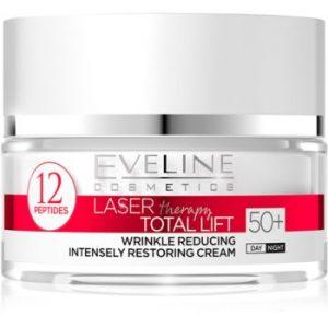 Eveline Cosmetics Laser Therapy Total Lift crema anti-rid de zi si de noapte 50+
