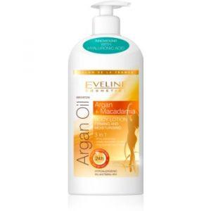 Eveline Cosmetics Argan Oil Lotiune de corp hidratanta pentru fermitate