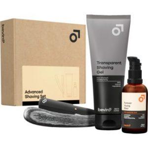 Beviro Advanced Shaving Set set cadou pentru bărbați