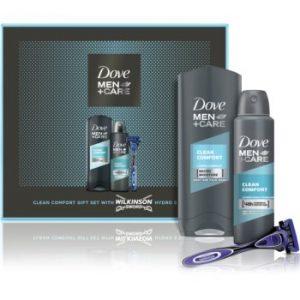 Dove Men+Care Clean Comfort set cadou (pentru barbati)