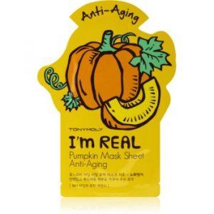 TONYMOLY I'm REAL Pumpkin masca pentru celule antirid