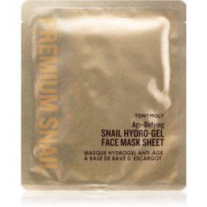 TONYMOLY Premium Snail mască revitalizantă cu hidrogel, cu extract din melcidin melci