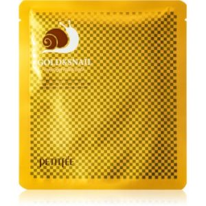 Petitfee Gold & Snail mască intensă cu hidrogel extract de melc