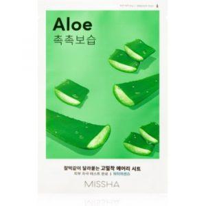 Missha Airy Fit Aloe masca de celule cu efect hidratant si linistitor