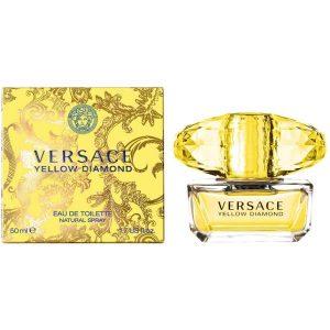 Apa de Toaleta Versace Yellow Diamond, Femei, 50ml