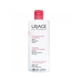 Apa demachianta pentru piele predispusa la roseata Uriage