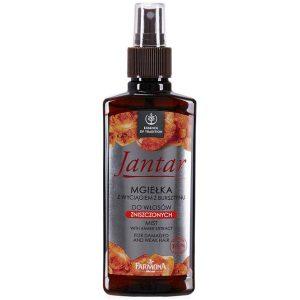 Balsam Spray cu Extract de Chihlimbar pentru Par Deteriorat - Farmona Jantar Mist with Amber Extract for Damaged and Weak Hair, 200ml
