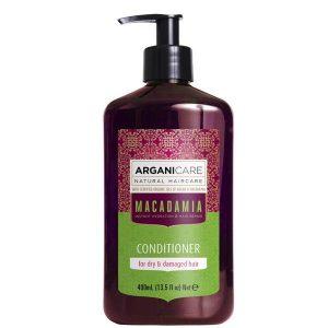 Balsam Ultra Hranitor cu Ulei de Macadamia pentru Par Uscat si Deteriorat Arganicare, 400 ml