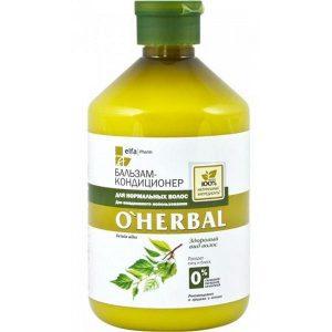 Balsam Utilizare Zilnica pentru Par Normal O'Herbal, 500 ml
