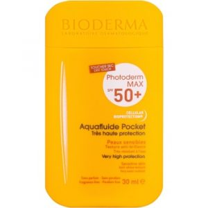 Bioderma Photoderm Max Aquafluid fluid protector mat pentru fata SPF 50+