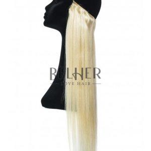 Extensii Flip-In Premium Blond Cenusiu
