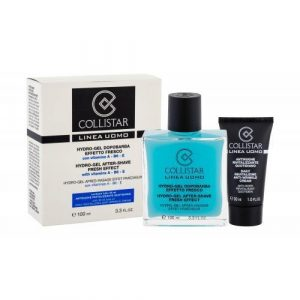 Collistar Men After Shave Fresh Effect set cadou Gel dupa barbierit Fresh Effect 100 ml + Crema antirid 30 ml pentru bărbați