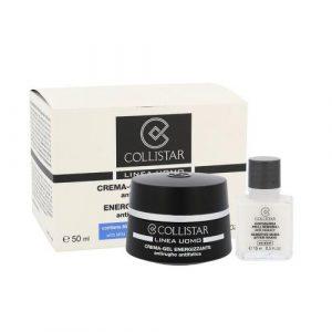 Collistar Men Energizing Cream-Gel set cadou Crema gel pentru barbati Energizing 50 ml + After-Shave Balsam pentru piele sensibila 15 ml M