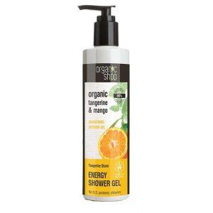 Gel de Dus Bio cu Mango si Mandarine Tangerine Storm Organic Shop, 280ml