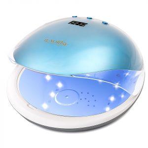 Lampa unghii UV LED 36W Crystal PRO - LUXORISE Germania, Albastru Topaz