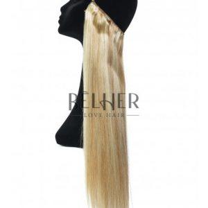 Extensii Flip-In Premium Mix Blond Cenusiu