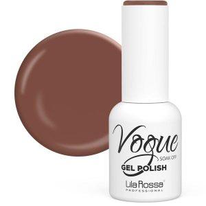 Oja Semipermanenta Vogue 75 Cocoa Lucios Lila Rossa, 10 ml