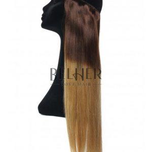 Extensii Flip-In Premium Ombre Ciocolatiu/Blond Miere
