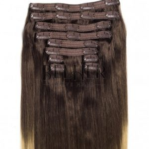 Extensii Clip-On VIP Ombre Saten Natural/Blond