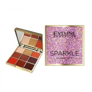 Paleta de farduri Eveline Cosmetics Sparkle