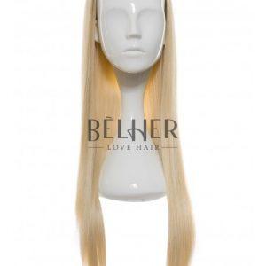 Peruca Partiala 3/4 Blond Deschis
