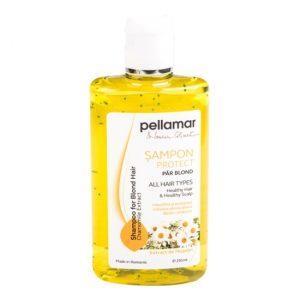 Şampon pentru păr blond cu extract de muşeţel Pell Amar 90051