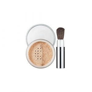 Pudra Clinique Blended Face Powder and Brush- Transparency
