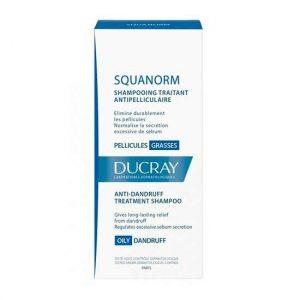 Sampon tratament anti-matreata grasa Squanorm, Ducray