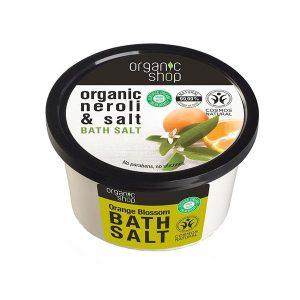 Sare de Baie cu Portocala Orange Blossom Organic Shop, 250ml