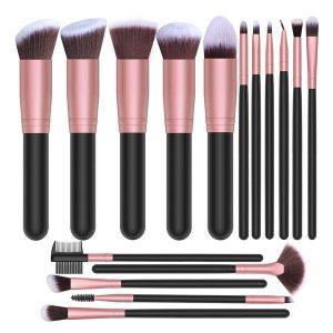 Set 16 pensule machiaj Professional Studio Makeup