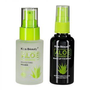 Set 2 in 1 Primer Machiaj + Spray Fixare Machiaj Aloe Essence