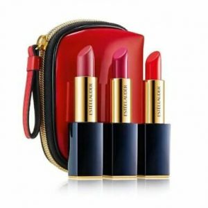 Set 3 rujuri + port-fard Estee Lauder Pure Color Envy
